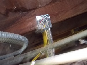 Home Inspection - Sub floor Electrical Inspection